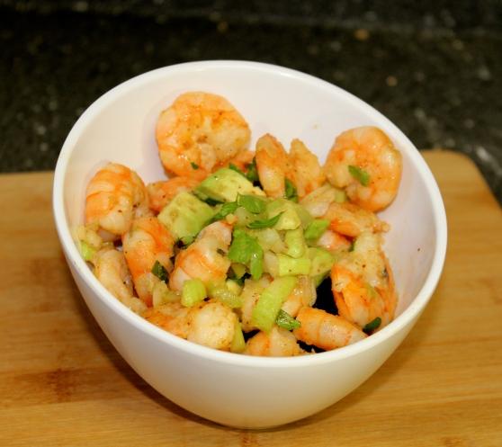 Shrimp and Avocado Salad – A Chef Complex
